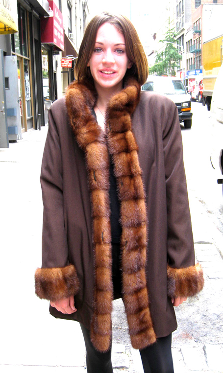 Remodel Your Older Mink Coat Into This