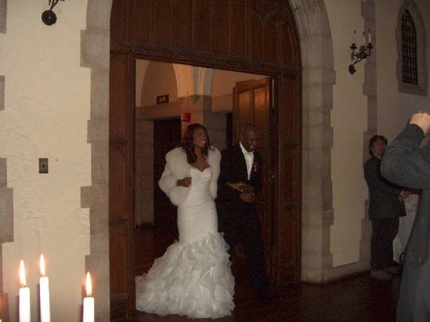 More Assorted Wedding Pictures From Our Beautiful Brides ( Damselle stole & White Mink & Fox Stole)