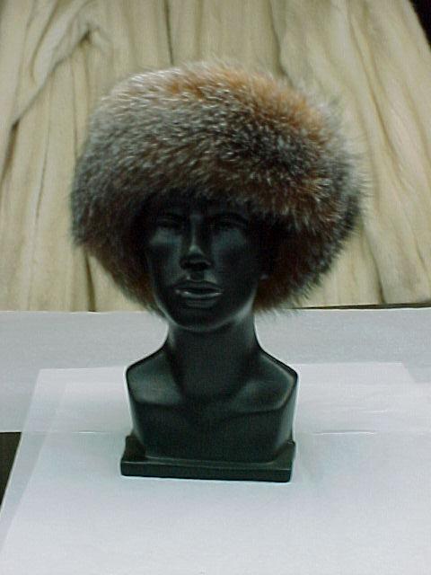Dyed Crystal Fox Headband