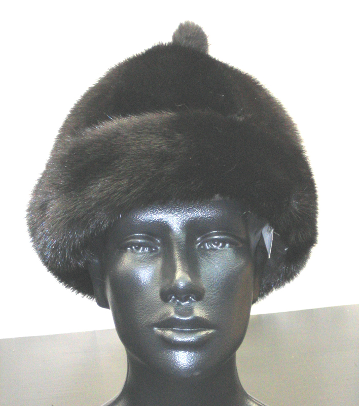 New Dyed Added Ranch Mink Scully Hat Madison Avenue Furs Henry