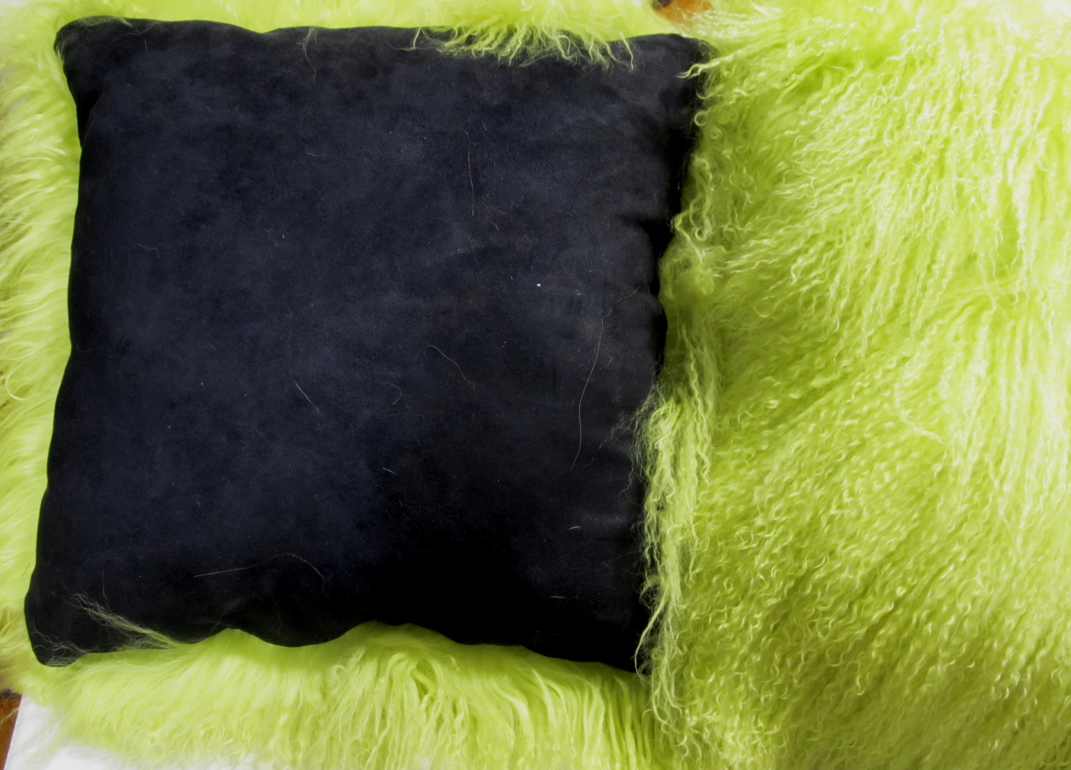 purple fur mongolian pillows inspirational for pillow