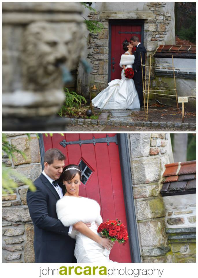 Pictures of one of beautiful brides in our wedding stoles