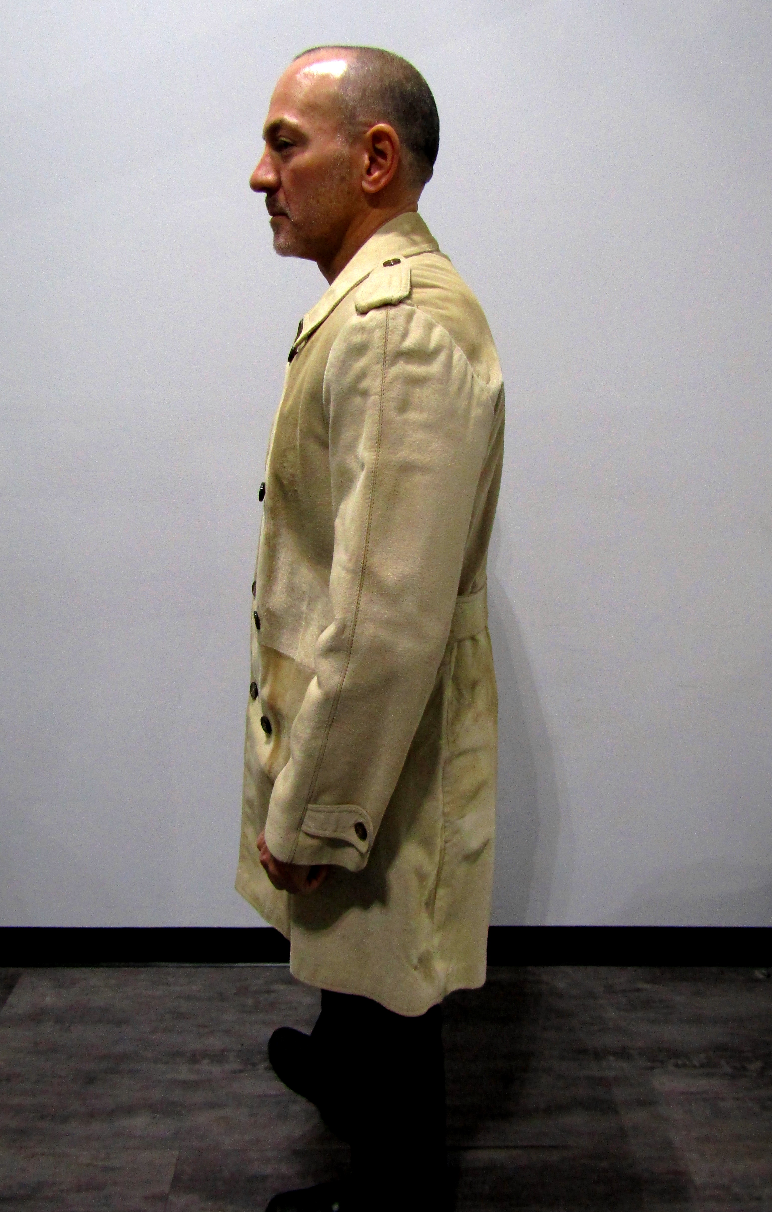 Brioni Men's Pre-Owned Dyed Beige Calf Skin Walker (size 40)