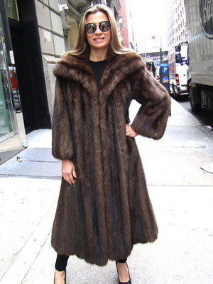 Sable Fur Coat >> Just Reduced *** Pre-Owned Russian Sable Swing Coat ( size: 8 - 10) - Madison Avenue Furs ...